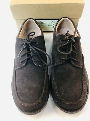 Cole Haan Suede Air Ace Lace Lace Up Oxfords Boys Size 3 Brown