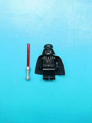 Lego Star Wars Minifigure Sith Lord Darth Vader w/Lightsaber 10212 10221 7965!