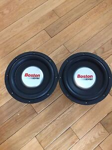 "Boston Acoustics G110 10"" Subwoofers"