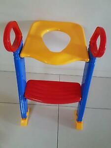 Kids Toilet Ladder Toddler Potty Training Seat - RRP$48 - Excelle East Brisbane Brisbane South East Preview