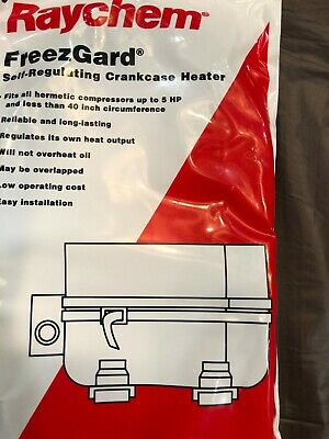 Raychem Cch-1c Freezgard Self Regulating Crankcase Heater 120v
