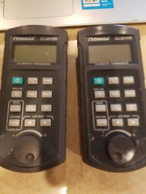 Omega Cl3515r Handheld Temperature Calibrator