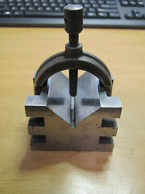 Brown Sharpe No. 750-2 V Block And Clamp