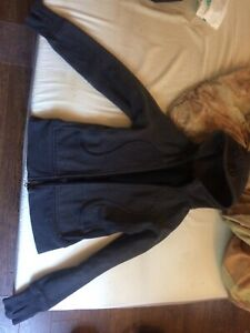 Black lululemon scuba sweater