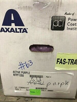 63 Active Purple Powder Coating Paint - New 1lb