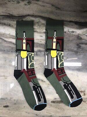 Star Wars Boba Fett Socks - One Size - USA SHIPPING
