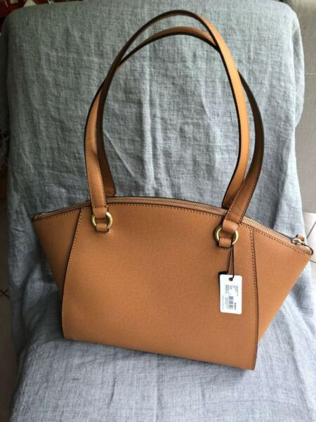 4a5d7abed898 Mimco Sublime Mini Tote in Caramel-Brand New
