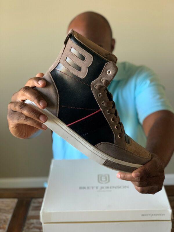 Rare Brett Johnson Stormy Nights Luxury Sneaker Urban Sophistication Sz 12