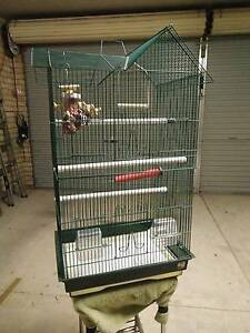 Tall Bird Cage with Accessories Attadale Melville Area Preview
