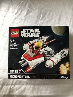 LEGO Star Wars Resistance Y-wing Microfighter 75263 New Sealed BNIB