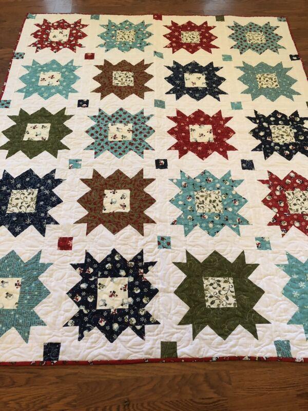 Handmade Quilt Christmas Quilt
