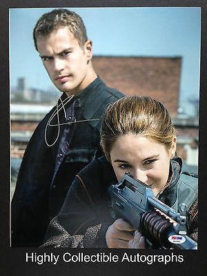 Shailene Woodley Signed 11X14 Photo Autograph Divergent Psa Dna Coa