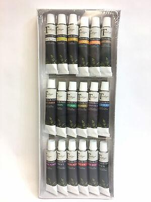 Water Color Set (Tavolozza Professional Water Color Paint Set with 18 Colors 4fl oz)