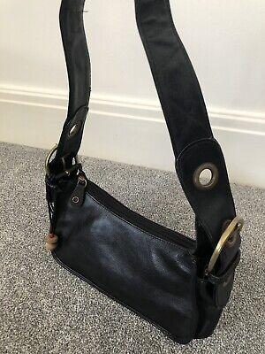 Hidesign Women's Black Leather Handbag