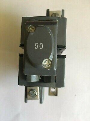 Circuit Breaker 50 Amp 2 Pole Pushmatic Ubi