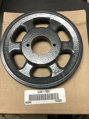 Browning Vbelt Sheave Pulley Bushing Bore Single Groove Cast Iron Part Ak64h