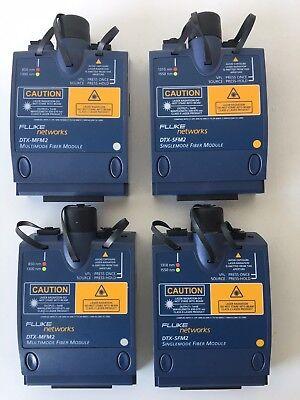 Fluke Dtx-sfm2 Dtx-mfm2 Sm Mm Fiber Modules For Dtx-1800. Warranty Fast Shipping