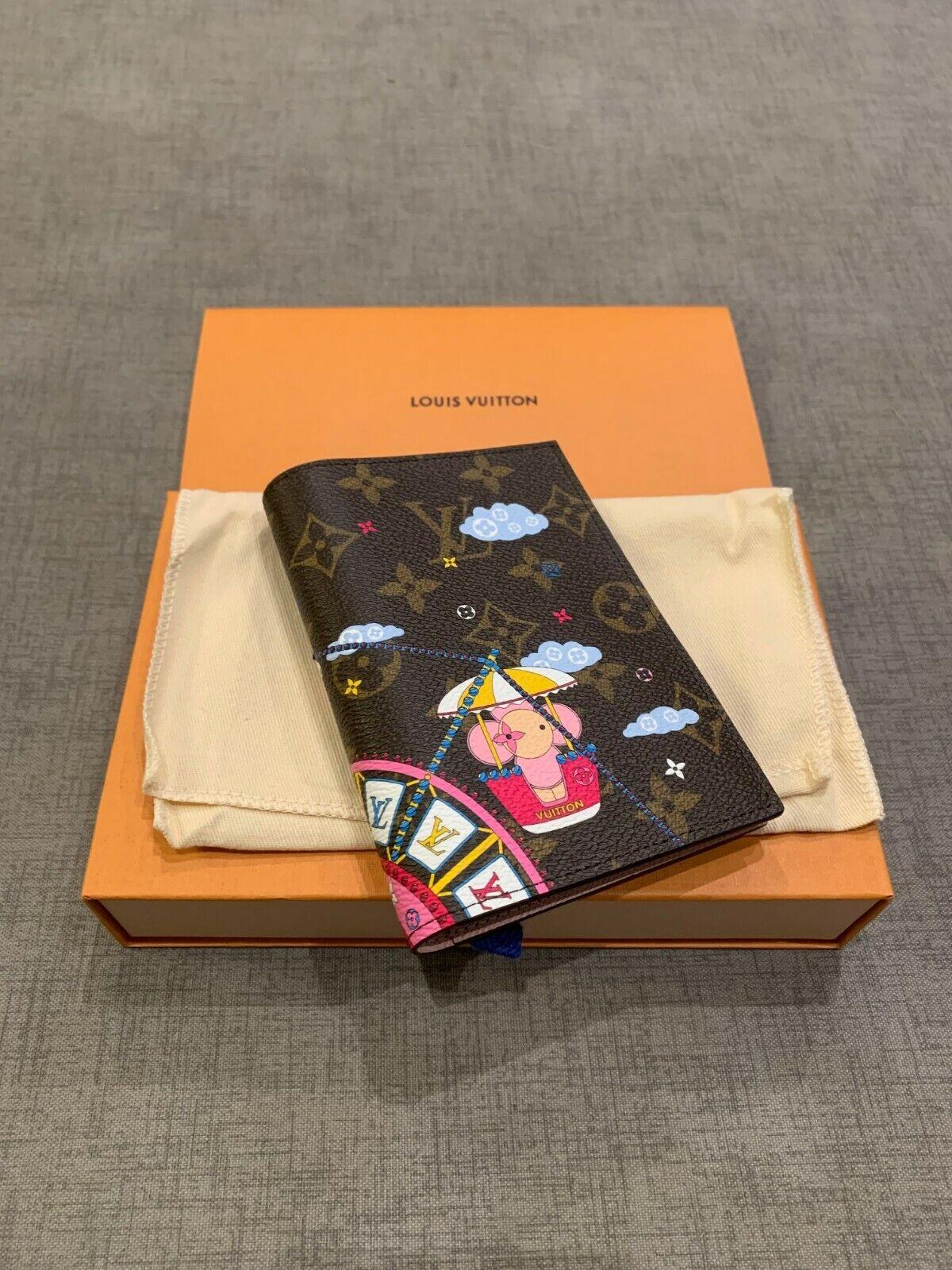 Louis Vuitton Vivienne Passport Cover 2020 exclusive