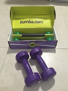 Zumba sticks & 2.5kg dumbbells St Clair Penrith Area Preview