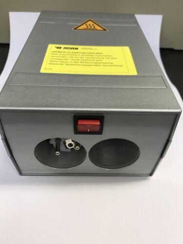 Horn Kartuschenbox Vorwärmebox für 2 Kartuschen 310ml Wärmebox Wärmegerät