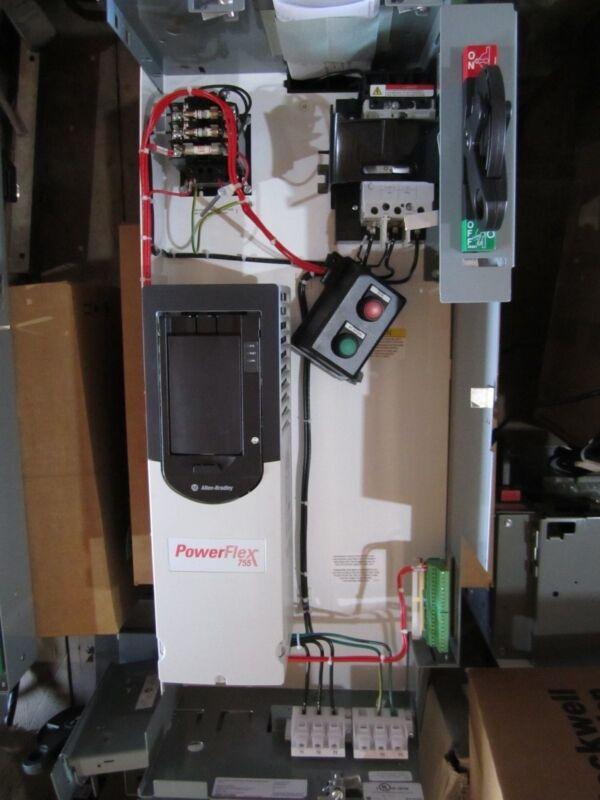 New Allen Bradley 2163 Vfd Mcc Powerflex 755 20g11nd5p0aa0nnnnn