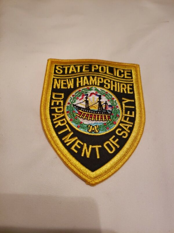 NEW HAMPSHIRE STATE POLICE DEPARTMENT OF SAFETY PATCH