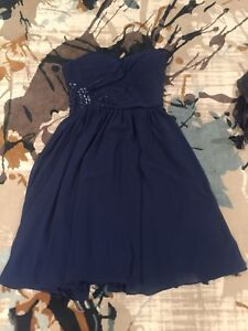 Bridesmaid or party dresses. Midnight blue