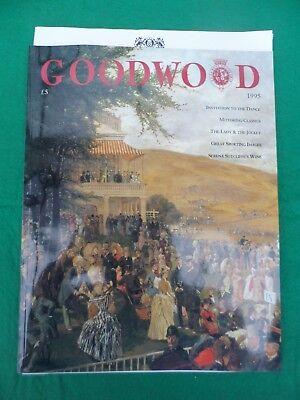 X - Horse racing - Goodwood Racecourse - Goodwood Magazine 1995