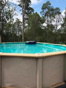 Pool above ground Arundel Gold Coast City Preview