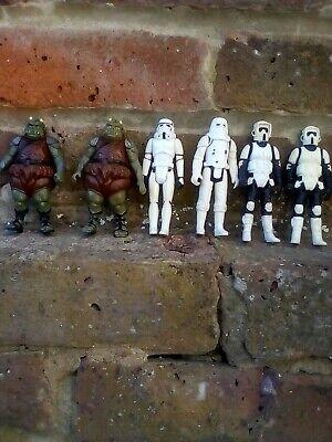 vintage kenner star wars bundle job lot storm troopers,jabba the huts guards