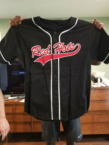 RED HOT CHILLI PEPPERS  Embroidered Baseball Jersey