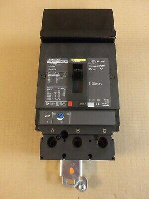 New Square D Jda Jda36250 3 Pole 250 Amp 600v Circuit Breaker Nto