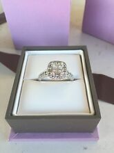 White gold diamond ring Merewether Newcastle Area Preview