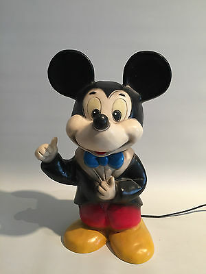 Micky Maus Lampe Heico 1984 80er Jahre Mickey Mouse Lamp