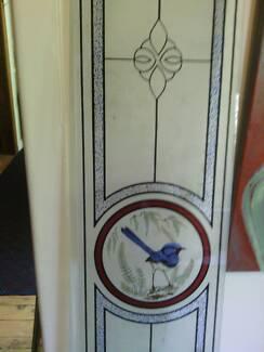 Glass door panels Blue Wren Mortdale Hurstville Area Preview
