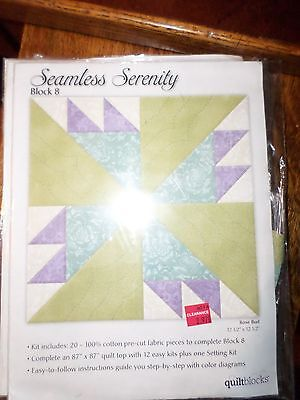 Seamless Serenity Quilting Kits Blocks from Jo Ann Fabric & Craft Stores  ](Crafting Stores)