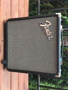 Fender rumble 15 bass amp (new)
