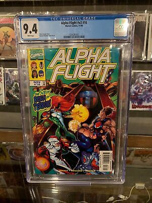 ALPHA FLIGHT (1997) #16 CGC 9.4 NM 1ST APP BIG HERO 6 (ID 7443)