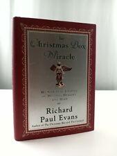 The Christmas Box Miracle by Richard Paul Evans HCDJ 2001 1st Ed 1st Print | eBay