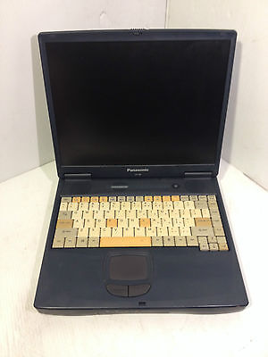 Used Panasonic CF-48 Laptop Pentium III,Windows 2000 , 20GB HDD,CD drive