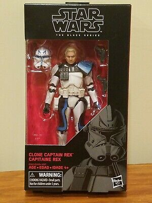 "Star Wars Black Series 6"" Clone Captain Rex #59 Clone Trooper Clone Wars MISB"
