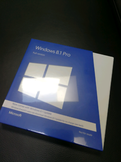 Unopened, brand new, Microsoft Windows 8.1 professional