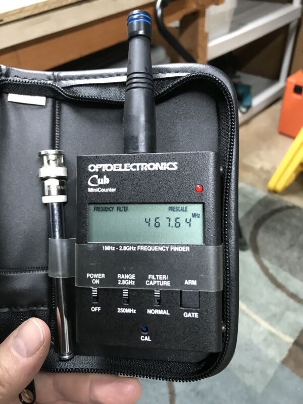 Optoelectronics Cub (Frequency Counter)