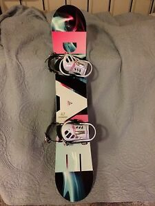 Firefly Snowboard and Bindings