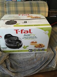 T-Fal ActiFry 2 in 1  As is