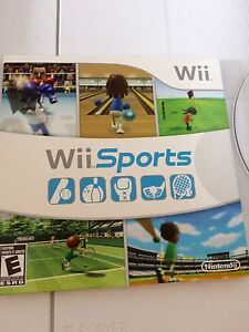 Nintendo Wii with balance board, Wii Fit Plus, Wii Sports game Peterborough Peterborough Area image 3