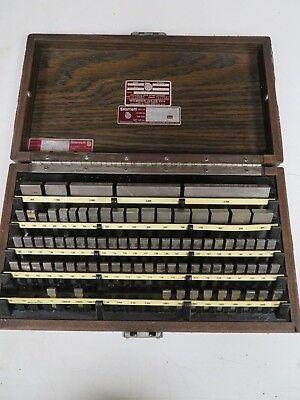 30-912-0 Rect Gage Block Set 81pc Economy Grade