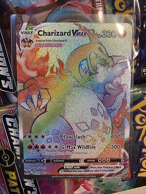 Charizard Vmax Secret Rare Champions Path InHand MINT