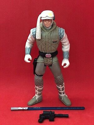 STAR WARS POTF2 LUKE SKYWALKER HOTH GEAR LOOSE COMPLETE