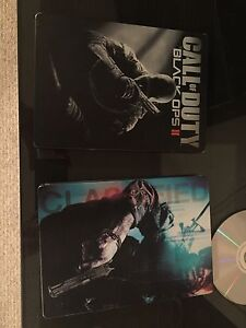 Call of duty black ops 1 & 2 steel box case